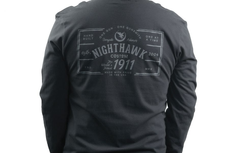 One Gun, One Gunsmith, Long Sleeve, Black
