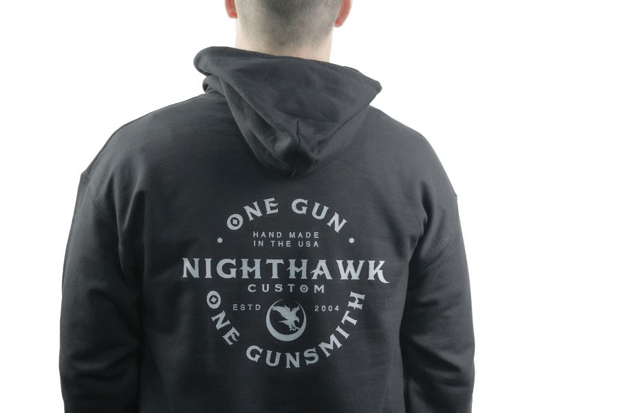 One Gun, One Gunsmith, Hoodie, Black