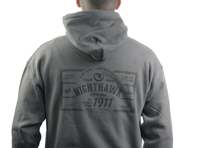 One Gun, One Gunsmith, Hoodie, Charcoal Gray