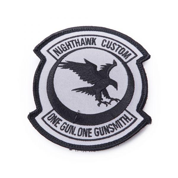 Nighthawk Custom Patch - Black & Grey