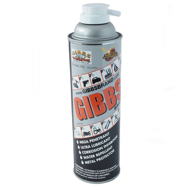 Gibbs Lubricant/Cleaner 12 oz. Pressurized Spray Can