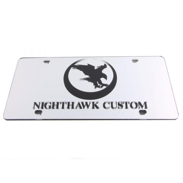 Nighthawk Custom License Plate