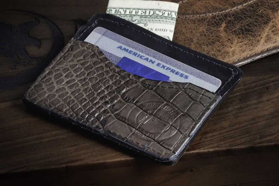 Brown Alligator Wallet