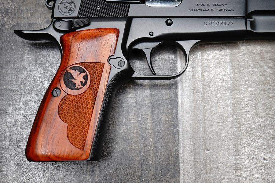 Browning Hi Power Grips, AAA Exhibition Grade Cocobolo