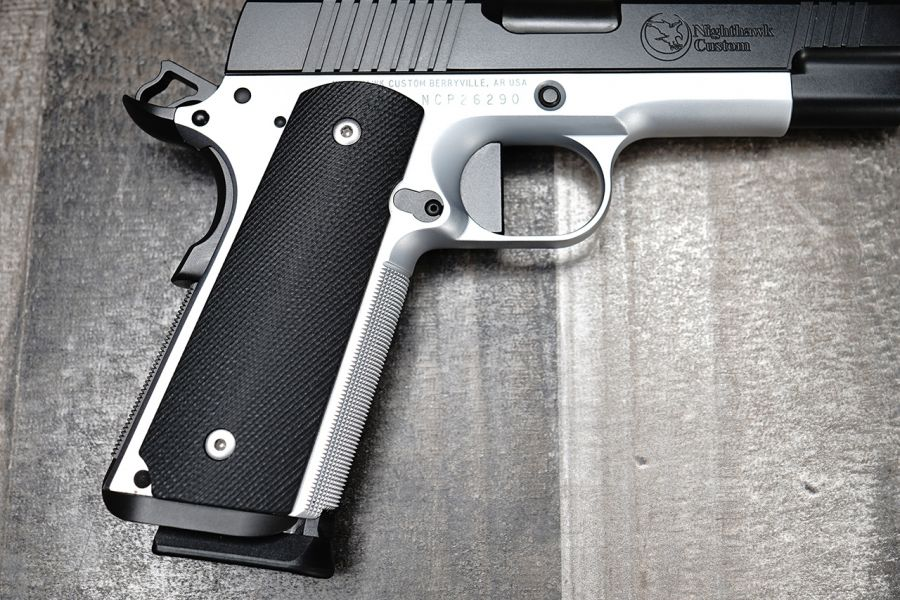 320 Black G10 Grips, Government/Commander