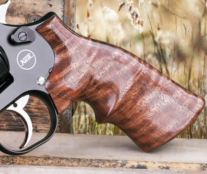 Hogue Walnut Revolver Grip