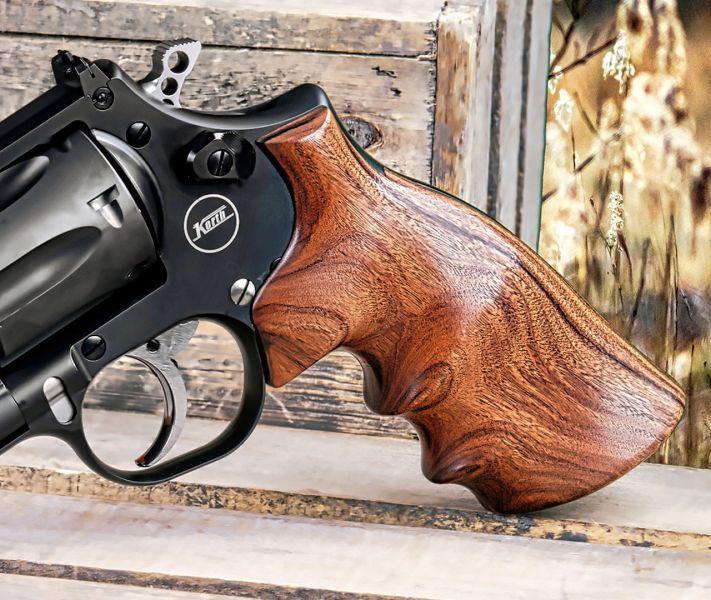 Hogue Pau Ferro Revolver Grip