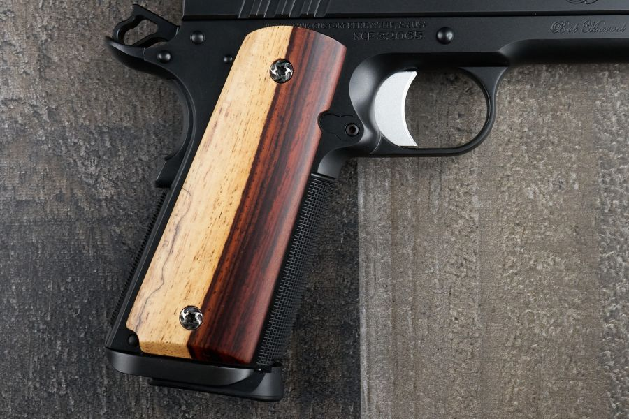 1911 Grips, AAA-Grade Cocobolo, Government/Commander