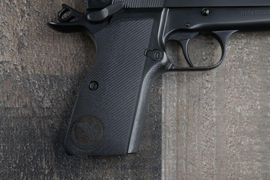Browning Hi Power Grips, Black, G10