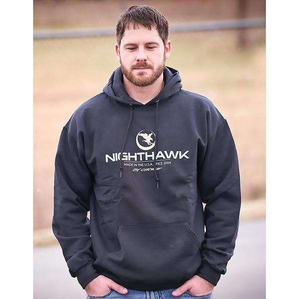 Nighthawk by Choice, Hoodie, Black