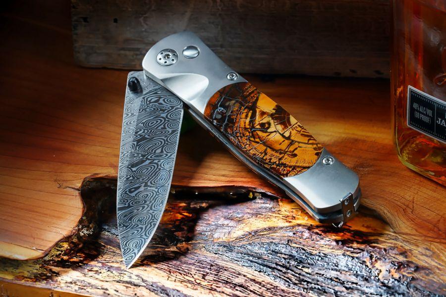 "Mammoth Handle 2.5"" Blade Folding Knife"