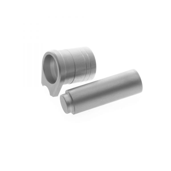 Thick 1911 Bushing and Smooth Plug, Government, Stainless