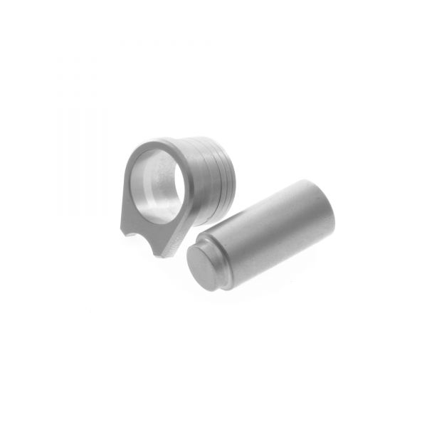 Thick 1911 Bushing and Smooth Plug, Commander, Stainless