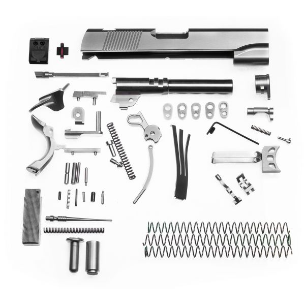 Complete 1911 Parts Kit, 9mm, Commander