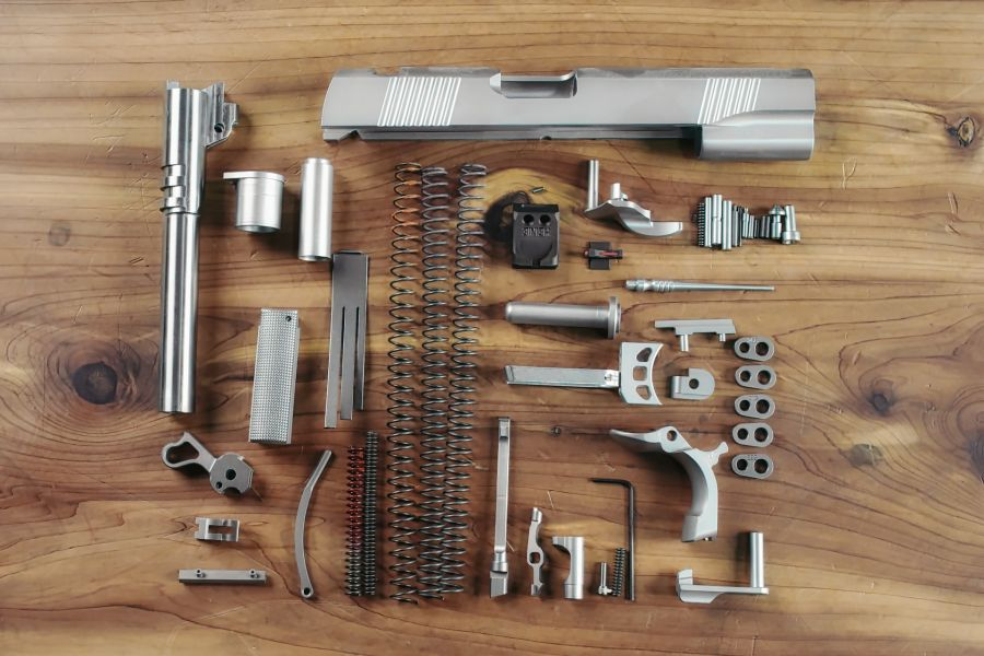 Complete 1911 Parts Kit, .45 ACP, Government
