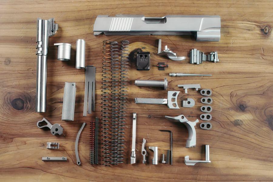 Complete 1911 Parts Kit, .45 ACP, Commander