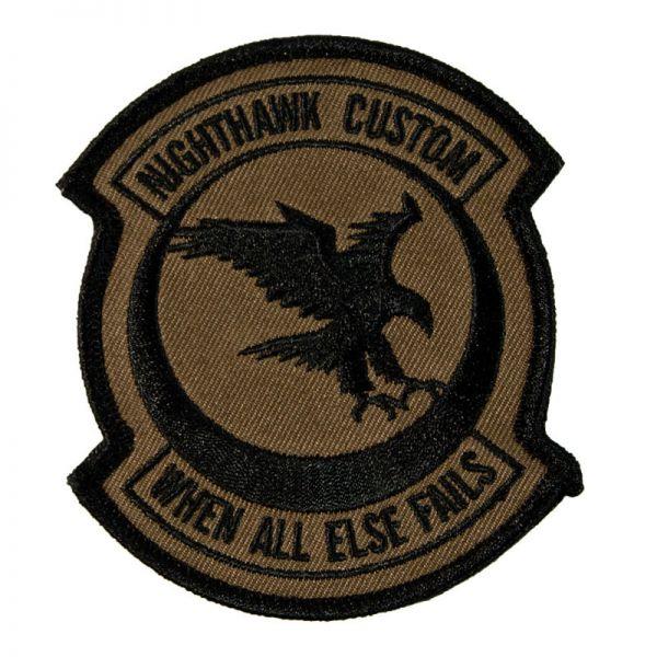 Nighthawk Custom Patch - OD Green