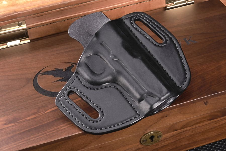 """Holster, Classic Cowhide, Counselor, 3.5"""" barrel"""