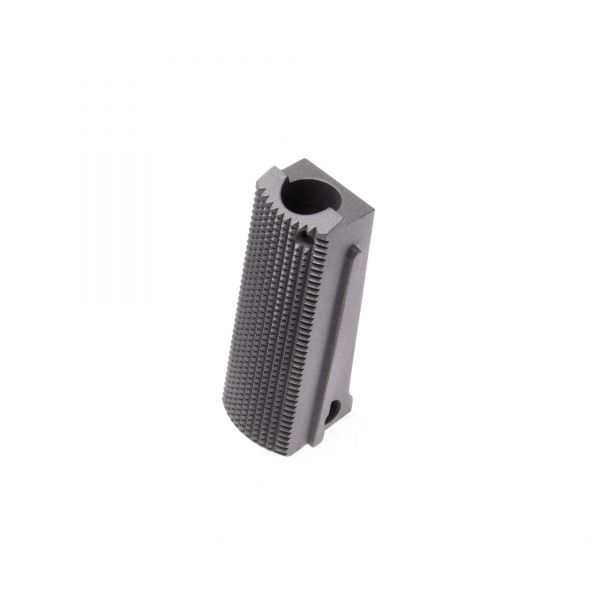 1911 Mainspring Housing, Officer, Flat Checkered, Stainless